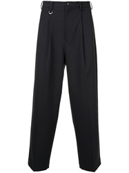 Guild Prime Loose Fit Tailored Trousers Blue