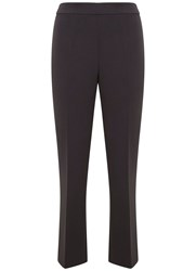 Mint Velvet Smoke Crop Kick Flare Trouser Grey