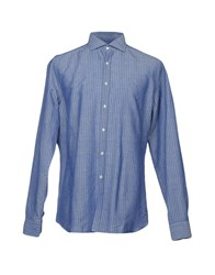 Gherardini Shirts Blue