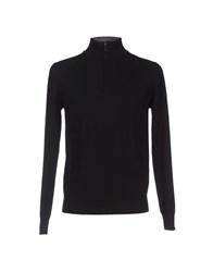 Heritage Knitwear Turtlenecks Men Black
