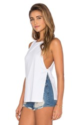 Nightcap Side Knot Tank White