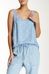 Andrea Jovine Dotted Tank Blue