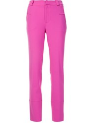 Roland Mouret Tailored Trousers Pink And Purple