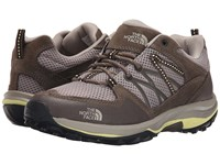 The North Face Storm Fastpack Vintage Khaki Chiffon Yellow Women's Shoes Brown