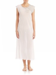 Natori Muse Lace Detail Gown White