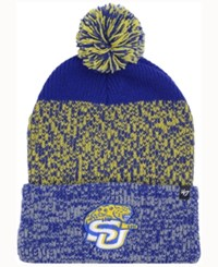 47 Brand '47 Southern Jaguars Static Cuff Knit Hat Blue Gold Heather