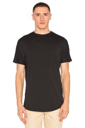 Publish S S Scallop Tee Black