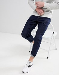 New Look Tapered Jean In Navy