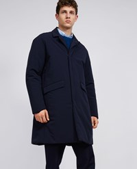 Aspesi Raincoat Adatto Blue