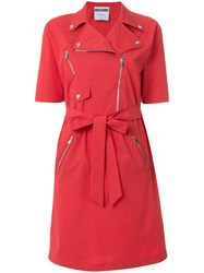 Moschino Trench Red
