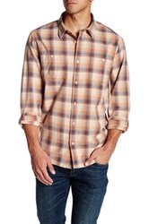 Threads For Thought Long Sleeve Regular Fit Sunset Plaid Flannel Shirt Multi