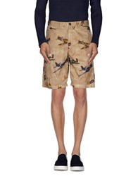 Franklin And Marshall Trousers Bermuda Shorts Men Camel