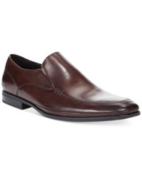 Kenneth Cole Home Base Loafers Men's Shoes Brown