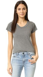 Lna Crew Neck Tee Heather Grey