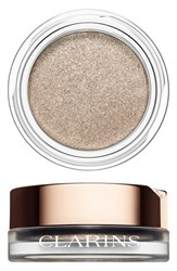 Clarins 'Ombre Iridescente' Cream To Powder Iridescent Eyeshadow Silver Ivory 04