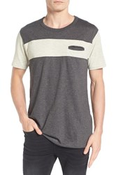 Imperial Motion Men's Nelson Pocket T Shirt Oatmeal Charcoal