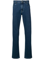 Canali Regular Fit Jeans Blue