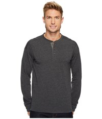 The North Face Long Sleeve Terry Henley Tnf Dark Grey Heather Long Sleeve Pullover Gray