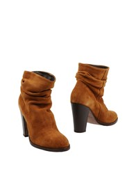 Lemare Ankle Boots Brown