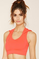 Forever 21 Active Hooded Bralette