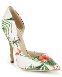 Dolce By Mojo Moxy Tracy D'orsay Pumps Women's Shoes White Multi