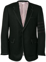 Thom Browne 4 Bar Wide Lapel Shetland Sport Coat 60