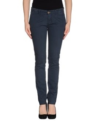 Maison Clochard Casual Pants Dark Blue