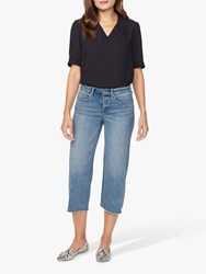 Nydj Wide Leg Cropped Jeans Coheed