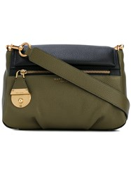 Marc Jacobs The Standard Shoulder Bag Women Cotton Leather One Size Green