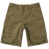Beams Plus Military Cargo Shorts Green