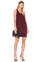 Theory Kestel Dress Burgundy