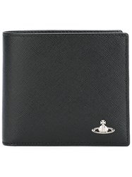 Vivienne Westwood 'Kent Saffiano' Billfold Wallet Men Leather One Size Black
