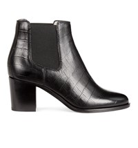 Hobbs Blake Ankle Boot Black Croc