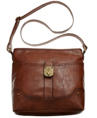 Styleandco. Style And Co. Twistlock Crossbody Carmel