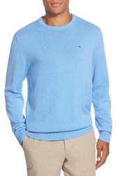 Vineyard Vines 'Whale' Classic Fit Cotton Crewneck Sweater Blue