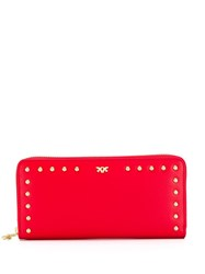 Pinko Studded Wallet Red