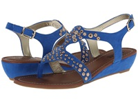 Carlos By Carlos Santana Mira Blue Women's Sandals