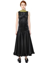 J.W.Anderson Sleeveless Heavy Satin Dress