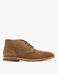 Hudson Houghton 3 In Tobacco Suede
