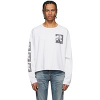 Enfants Riches Deprimes White Brenda Long Sleeve T Shirt