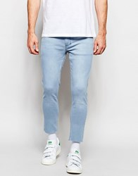 Religion Extreme Spray On Skinny Jeans Stone Wash 80'S Blue