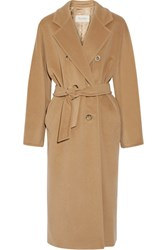 Max Mara Madame 101801 Wool And Cashmere Blend Coat Camel