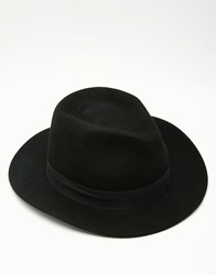 Gregorys Gregory's Wide Brim Fedora Hat With Black Band