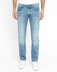 G Star Blue 3301 Stretch Slim Fit Jeans