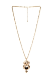 Forever 21 Quirky Owl Pendant Necklace