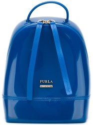 Furla Mini 'Candy' Backpack Blue