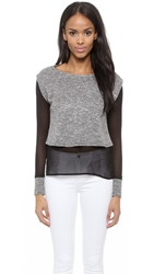 Autograph Addison Hazel Double Layer Top Black
