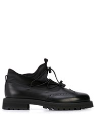 Hender Scheme Hi Top Oxford Shoes Black