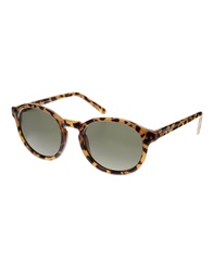 Cheap Monday Round Sunglasses In Honey Turtle Honeyturtle