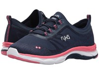Ryka Fierce Insignia Blue True Navy Calypso Coral Women's Walking Shoes